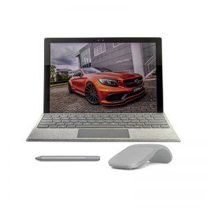 تبلت مایکروسافت مدل Surface Pro 2017 – F به همراه کیبورد مایکروسافت