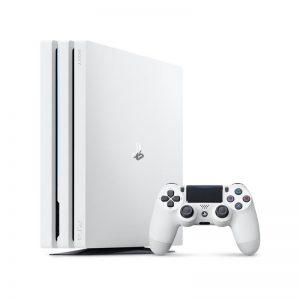 کنسول بازی سونی مدل Playstation 4 Pro Glaciar White کد Region 2 CUH-7116 ظرفیت 1 ترابایت