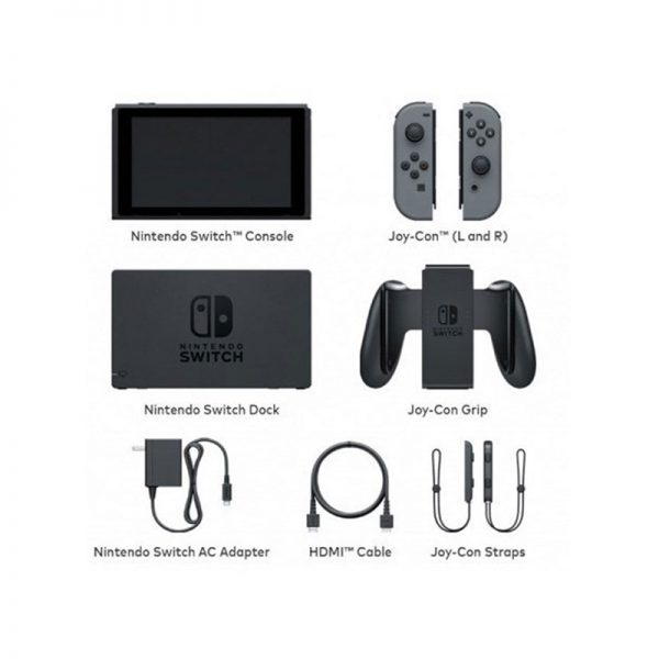 Switch Gray Joy-Con