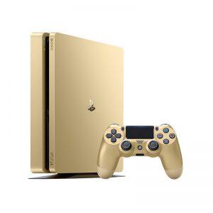 کنسول بازی سونی مدل Playstation 4 Slim Gold Limited Edition کد CUH-2015B Region 1 – ظرفیت 1 ترابایت