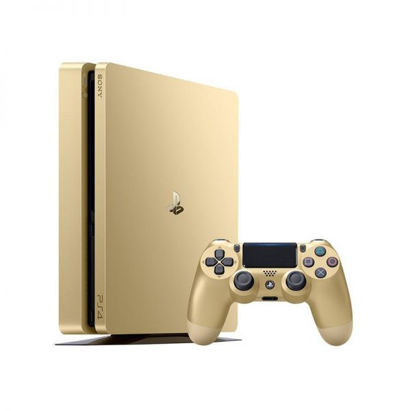Playstation 4 Slim Gold
