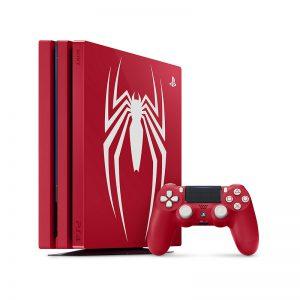کنسول بازی سونی مدل Playstation 4 Pro Marvel's Spider-Man Limited Edition کد Region 2 CUH-7116 ظرفیت 1 ترابایت