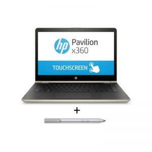 لپ تاپ 14 اینچی اچ پی مدل Pavilion x360 14-ba104ne به همراه قلم نوری