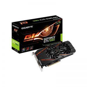 کارت گرافیک گیگابایت مدل GeForce GTX 1060 G1 Gaming 6G