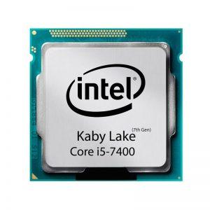 پردازنده مرکزی اینتل سری Kaby Lake مدل Core i5-7400 TRY