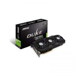 کارت گرافیک ام اس آی مدل GeForce GTX 1070TI DUKE 8G