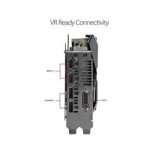 کارت گرافیک ایسوس مدل ROG-STRIX-GTX1070TI-A8G-GAMING