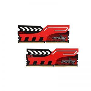 رم دسکتاپ DDR4 تک کاناله 2400 مگاهرتز CL16 گیل مدل Evo Forza ظرفیت 16 گیگابایت