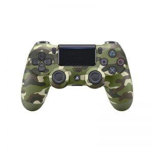 دسته بازی بی سیم سونی مدل Green Camouflage مناسب برای PS4