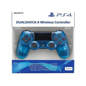 دسته بازی بی سیم سونی طرح کریستالی مدل DualShock 4 Navy blue مناسب برای PS4