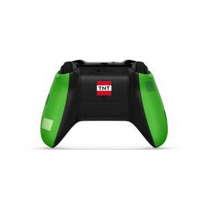 دسته بازی بی سیم مایکروسافت مدل Minecraft Creeper مناسب برای Xbox One