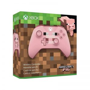 دسته بازی بی سیم مایکروسافت مدل MINECRAFT PIG مناسب برای Xbox One