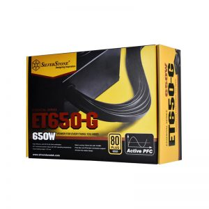 منبع تغذیه کامپیوتر سیلوراستون مدل Essential SST-ET650-G
