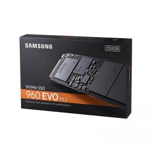 اس اس دی اینترنال سامسونگ مدل 960 Evo ظرفیت 250 گیگابایت