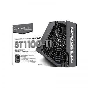 منبع تغذیه کامپیوتر سیلوراستون مدل Strider Titanium SST-ST1100-TI