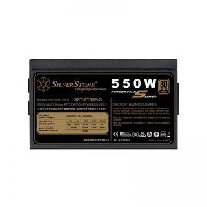 منبع تغذیه کامپیوتر سیلوراستون مدل Strider Gold S SST-ST55F-G