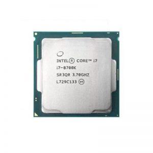 پردازنده مرکزی اینتل بدون باکس سری Coffee Lake مدل Core i7-8700