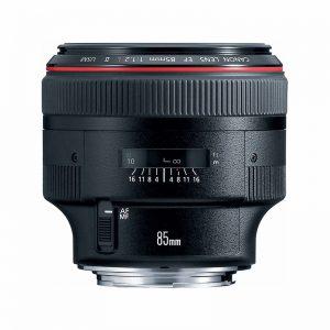 لنز دوربین کانن مدل EF 85mm f/1.2L II USM