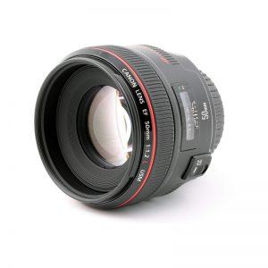 لنز دوربین کانن مدل f1.2L USM 50mm