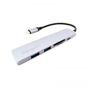 هاب USB-C به USB 3.0 انرجایزر مدل HC3MP2GY4