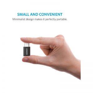 تبدیل USB-C به microUSB انکر مدل B8174
