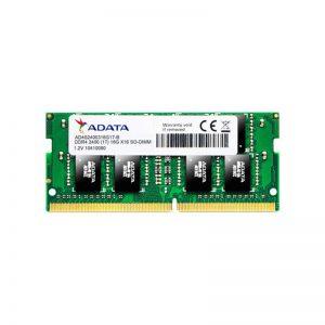 رم لپ تاپ ای دیتا CL17 DDR4 2400MHz ظرفیت 16 گیگابایت