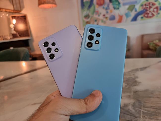 گوشی موبایل سامسونگ مدل Galaxy A72 ظرفیت 128